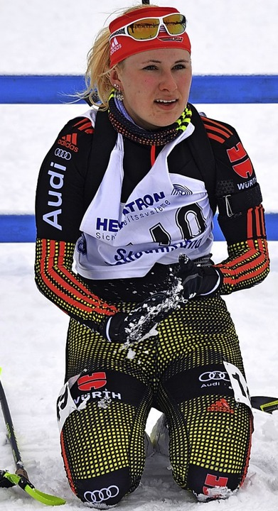 Siebte im IBU-Cup: Janina Hettich  | Foto: Junkel