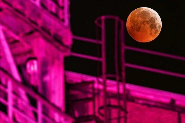 Totale Mondfinsternis: Der
