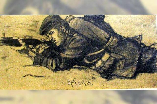 Regimentsmaler im Ersten Weltkrieg: