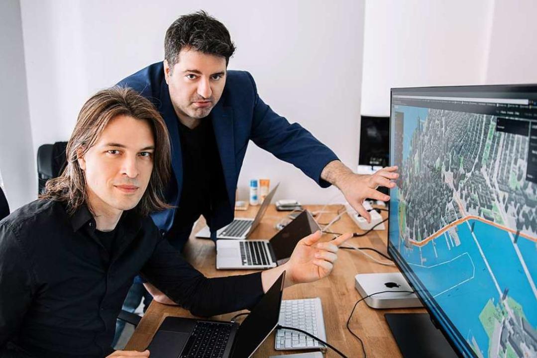 Die Gründer Sascha Knopp (links) und Aleksandar Stojanovic (rechts)  | Foto: Vladimir Milovanovic