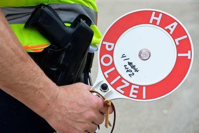 Fahrverbot: Mit Tempo 221 auf der A 5 erwischt