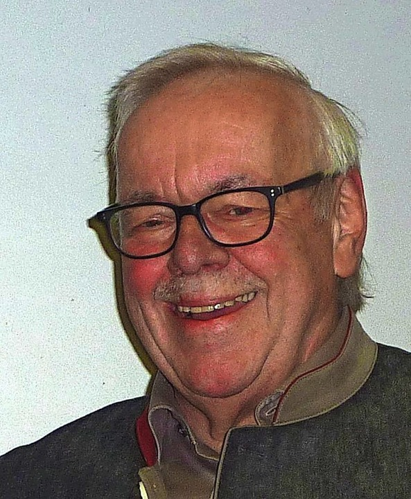 Werner Froß führte 30 Jahre die Musik ...tzt git er sein Amt in jüngere Hände.     Foto: Karlernst Lauffer