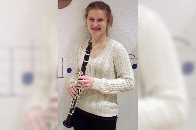 14-jährige Klarinettistin holt Gold