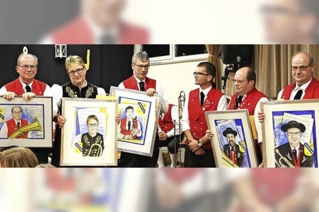 Trachtenkapelle Präg dankt ihren treuen Musikern