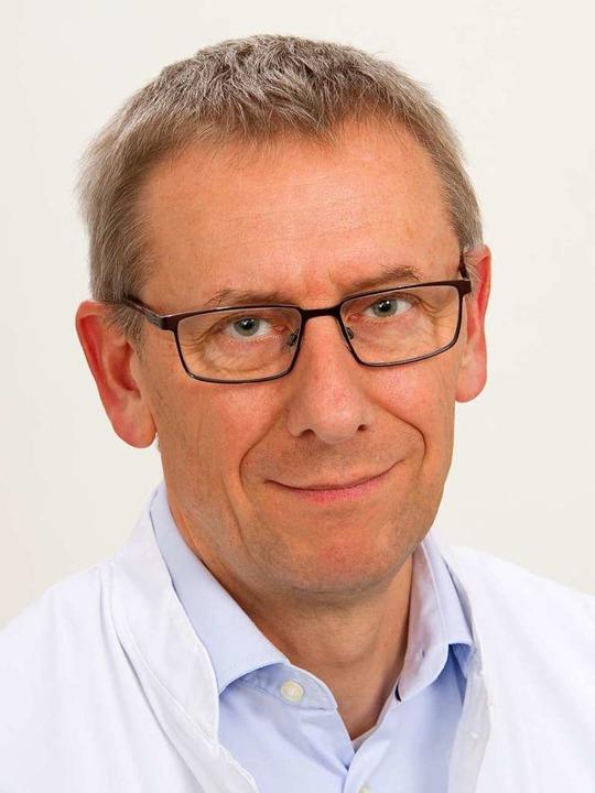 Sebastian Rauer, Leitender Oberarzt de...ologischen Universitätsklinik Freiburg    Foto: Uniklinik Freiburg
