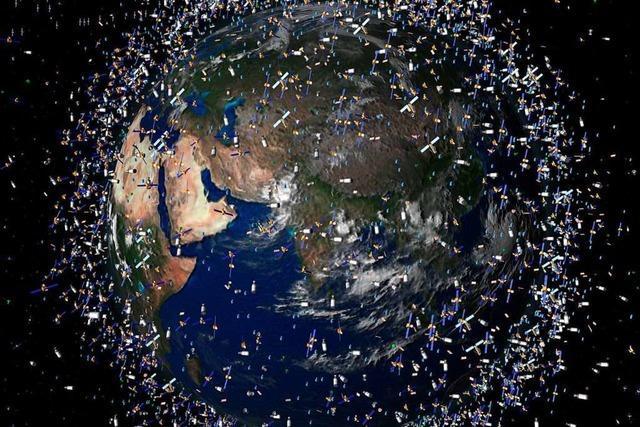 Weltraumschrott wird immer gefährlicher