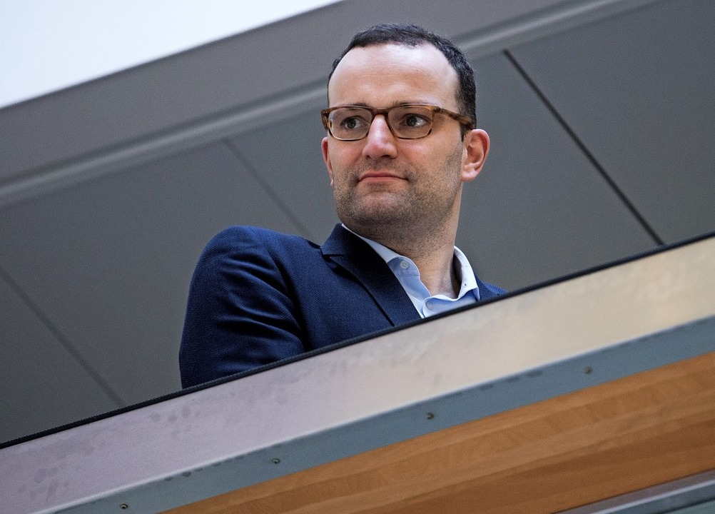 Jens Spahn hat mehr im Blick als nur das Gesundheitsministerium.     Foto: dpa