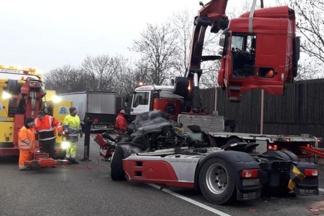 Autobahn nach Unfall bei Bad Krozingen wieder frei