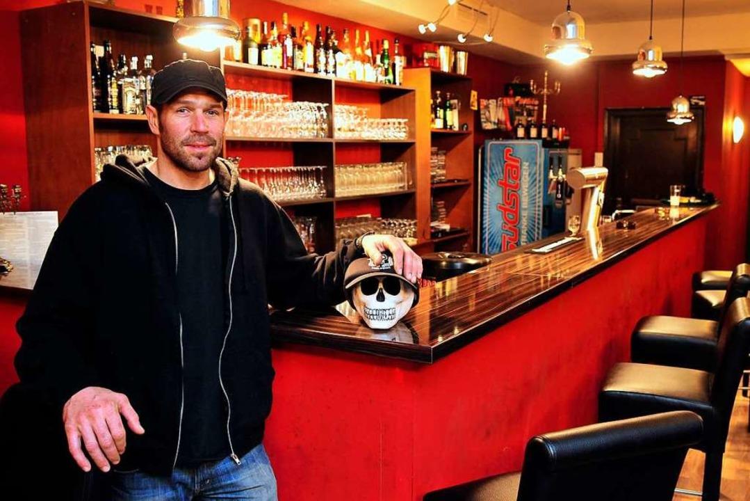 Thomas Brauchle wollte die Leo-Bar abg...alität wird nun anderweitig vermietet.  | Foto: Thomas Kunz
