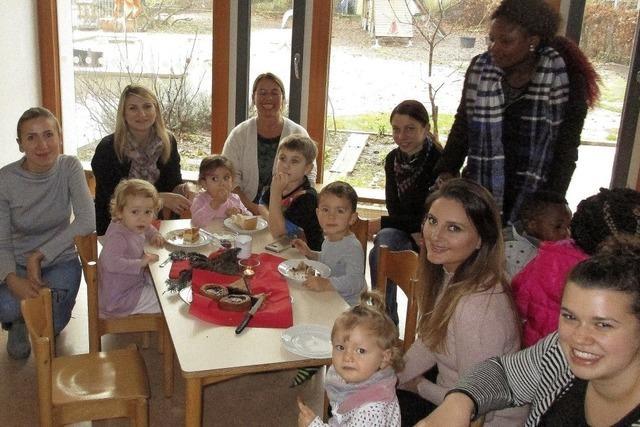Sprachentwicklung war Thema eines Vortrags beim Elterncafé