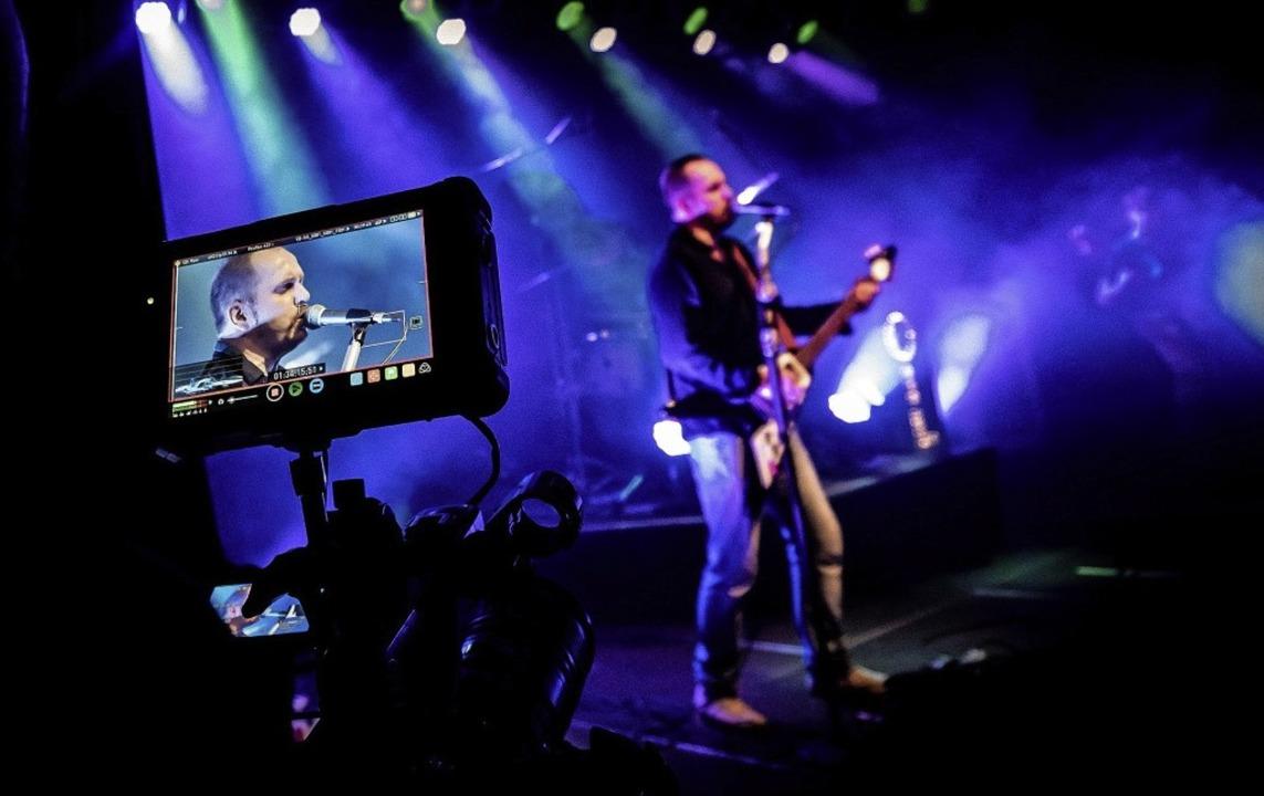 Beim Konzert von Oil  (Im Bild Gert En...ere Lahrer  Band Scaramouche gemacht.     Foto: Punchline