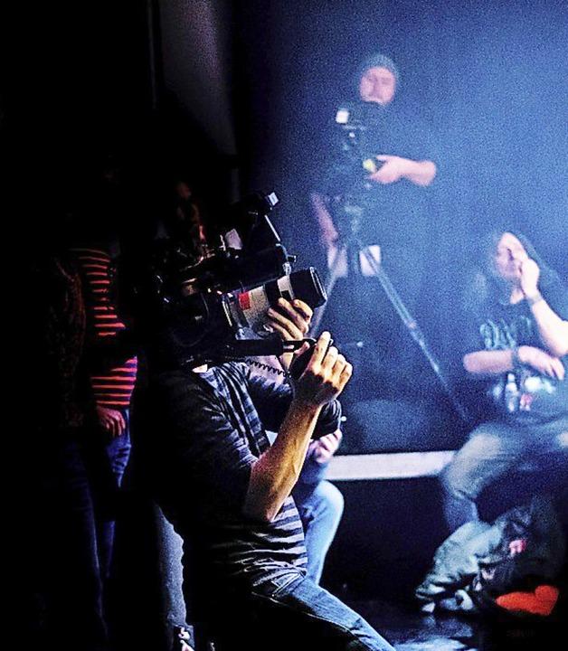 Filmdreh im Schlachthof    Foto: Punchline