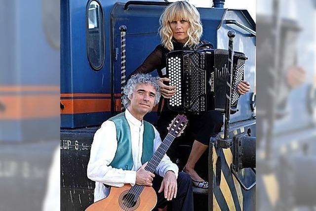 Gypsy-Sound und Chansons
