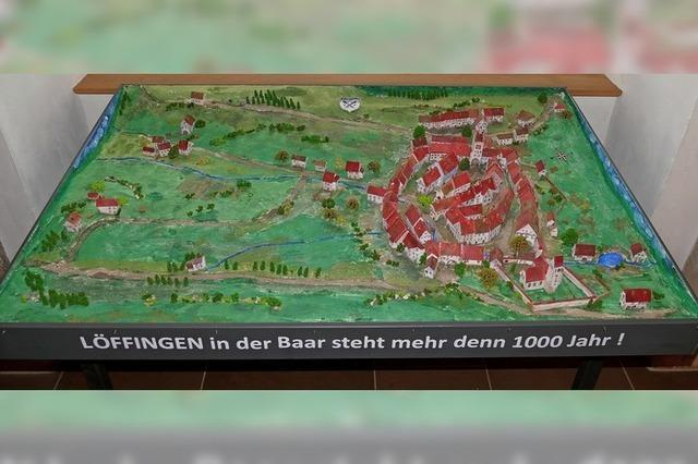 Stadtmodell ziert das Bürgerbüro