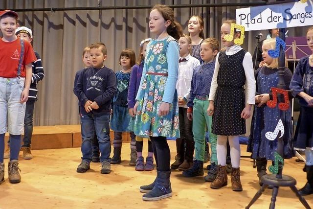 Großer Zulauf von jungen Sängern