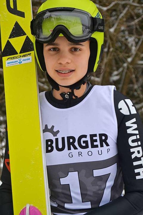 Karrierebeginn: Die 15-jährige Anna Jäkle aus Schonach  | Foto: Helmut Junkel