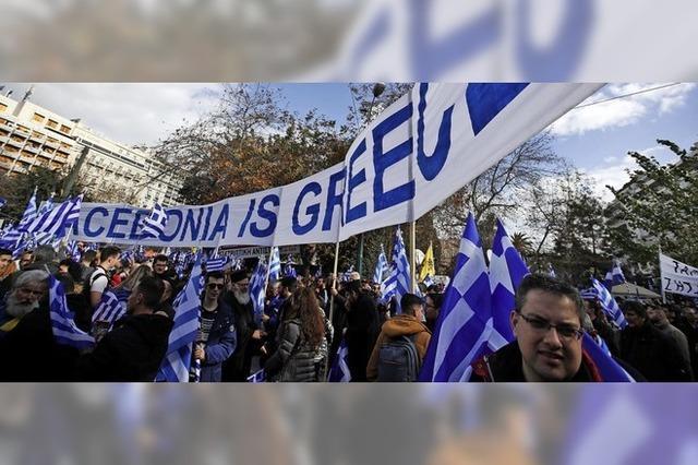 Mazedonien-Streit spaltet Griechen