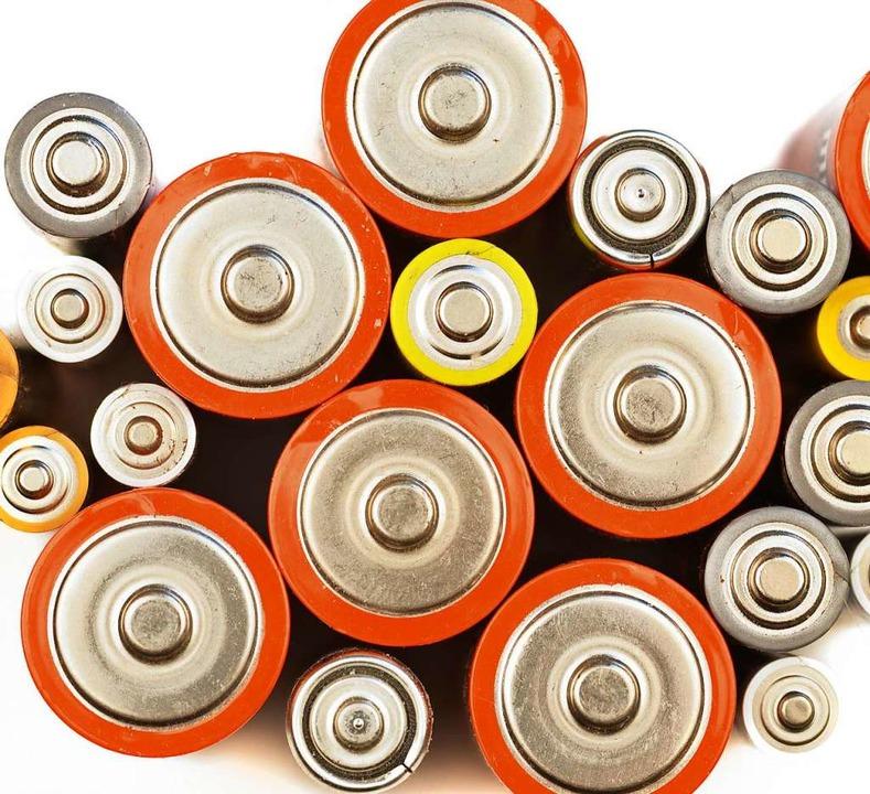 Lithium steckt in vielen Elektroprodukten.    Foto: Marek Brandt