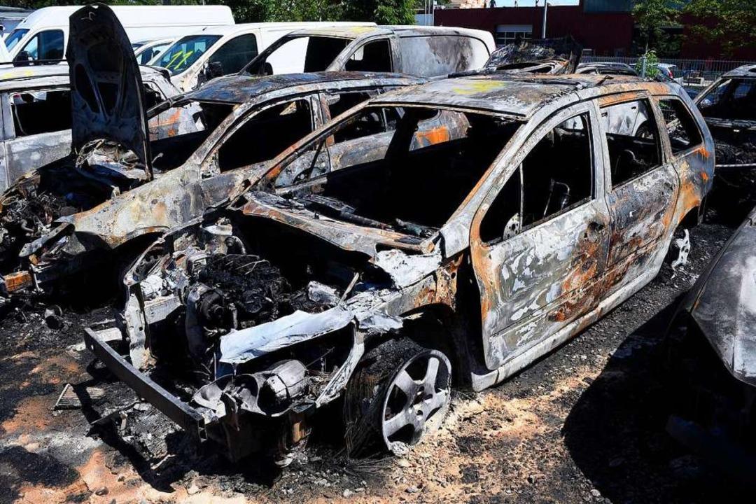 Von 2016 bis 2018 brannten in  Freibur...r Freiwilligen Feuerwehr Hochdorf war.  | Foto: Thomas Kunz