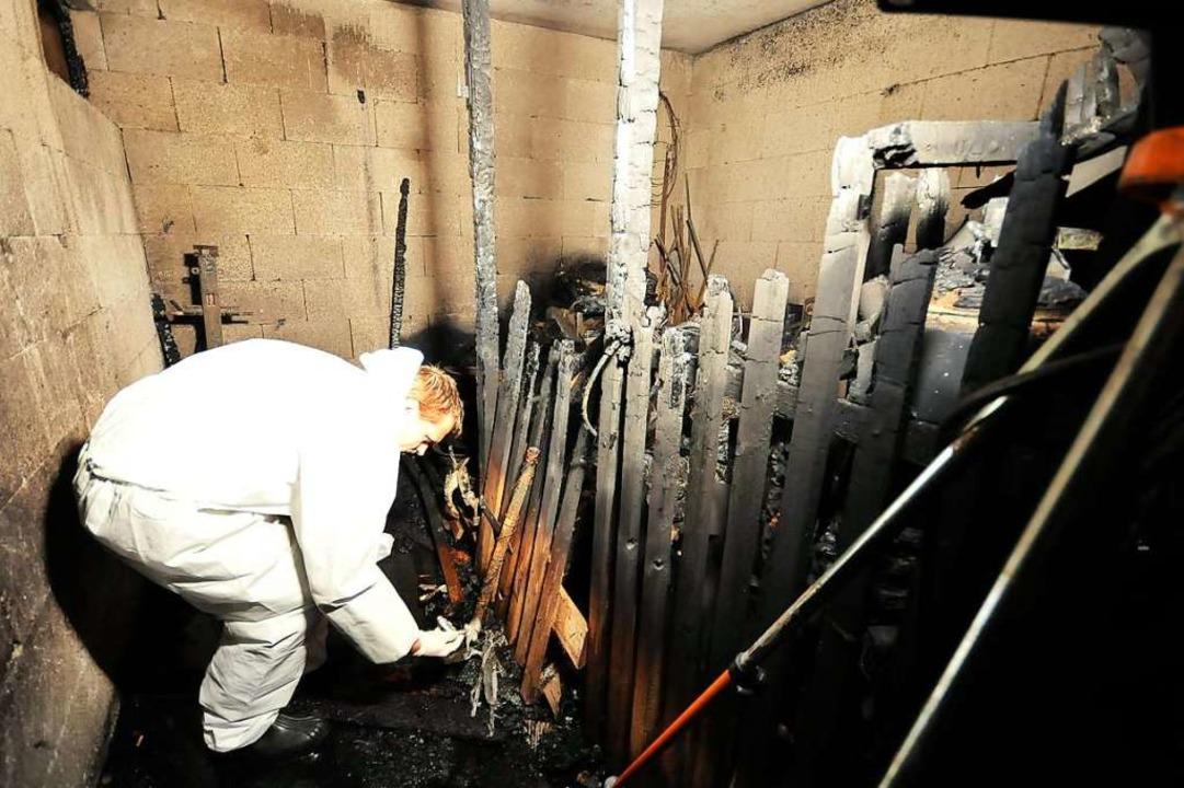 Herbst 2009: Bei dem Brand im Keller e...r Tullastraße starb ein Familienvater.  | Foto: Ingo Schneider