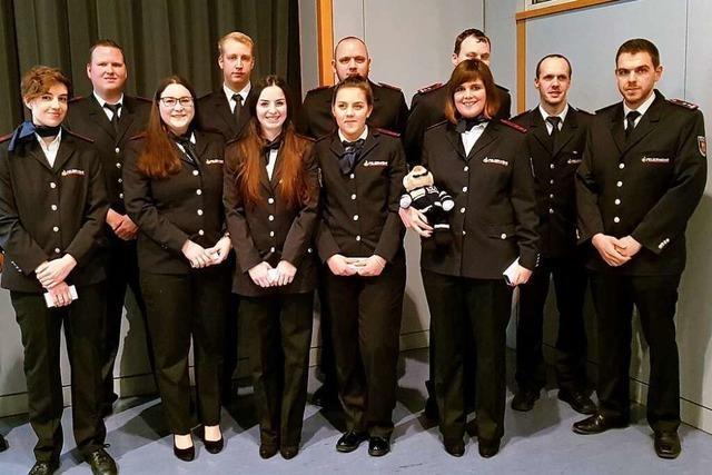Die Freiwillige Feuerwehr Ehrenkirchen leistet erfolgreiche Jugendarbeit
