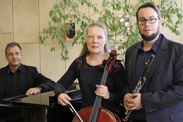 Trio Alma gastiert im Trompeterschloss in Bad Säckingen