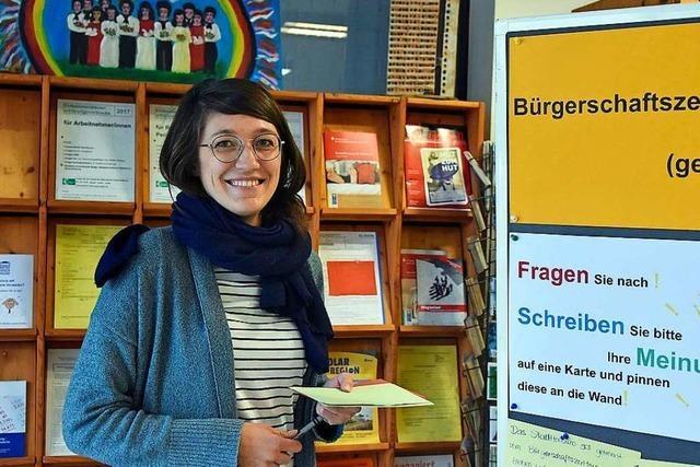Alexandra Kobzew ist die neue Quartiersarbeiterin in Weingarten
