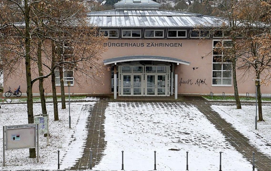 Bürgerhaus Zähringen  | Foto: Ingo Schneider