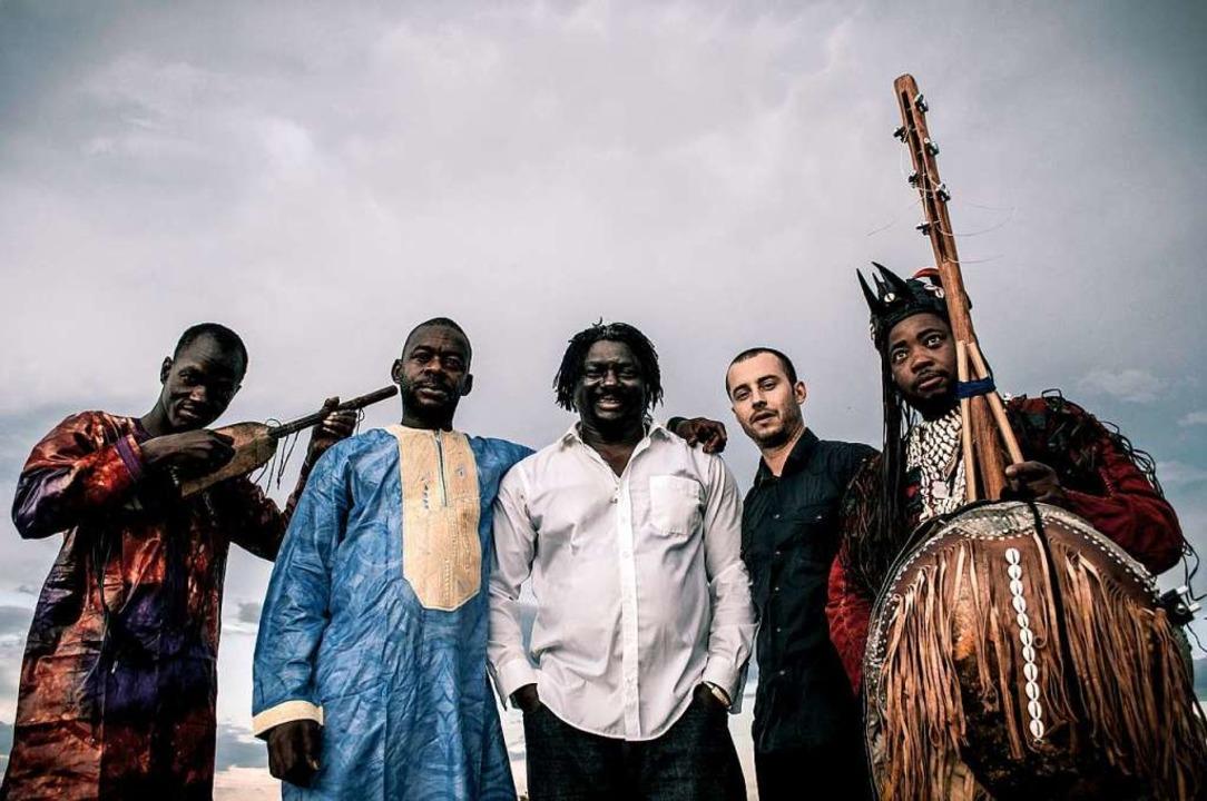 Fünf Ethnien, eine Band: BKO stehen für den Vielvölkerstaat Mali    Foto: Guillaume Dussably