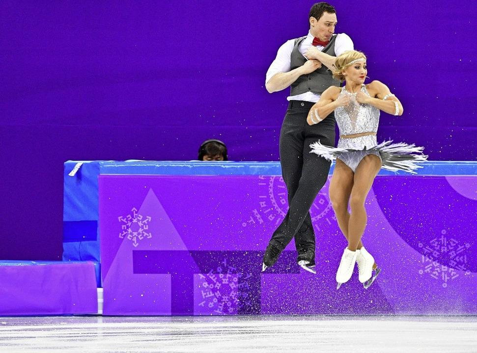 Auf dem Höhepunkt ihrer Karriere: Aljo...uno Massot bei den Spielen in Südkorea  | Foto: AFP