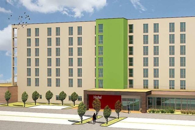 Siebenstöckiges Hotel in Herbolzheim soll ab April gebaut werden