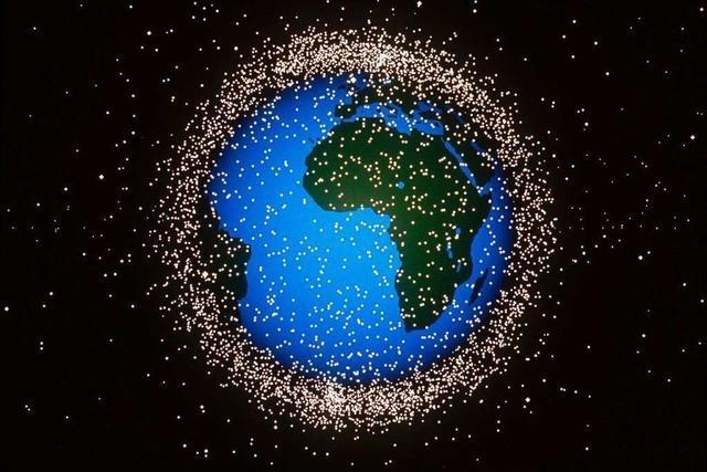 Was ist Weltraumschrott?