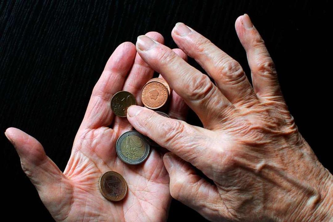 Jahrelang eingezahlt und trotzdem nur eine Grundsicherung?  | Foto: Sebastian Willnow