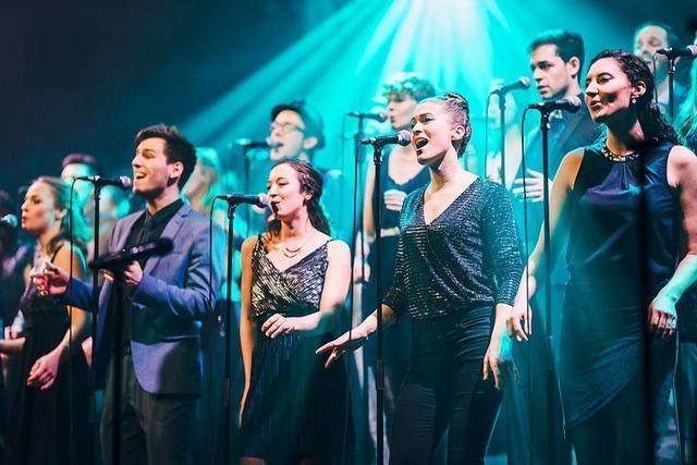 Freiburger Chor Twäng singt Pop-Songs – und zwar a cappella
