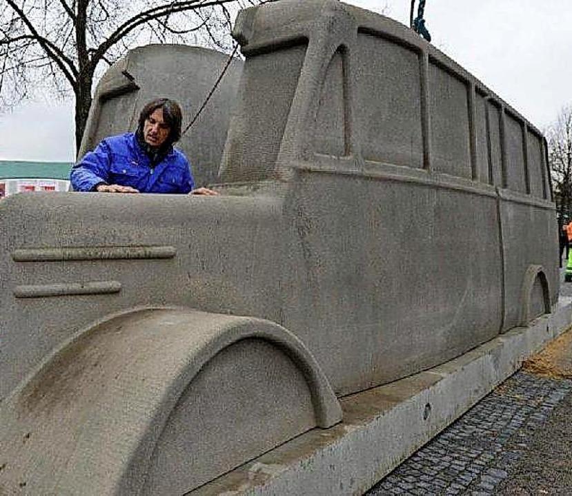Denkmal auf Zeit  | Foto: Dpa