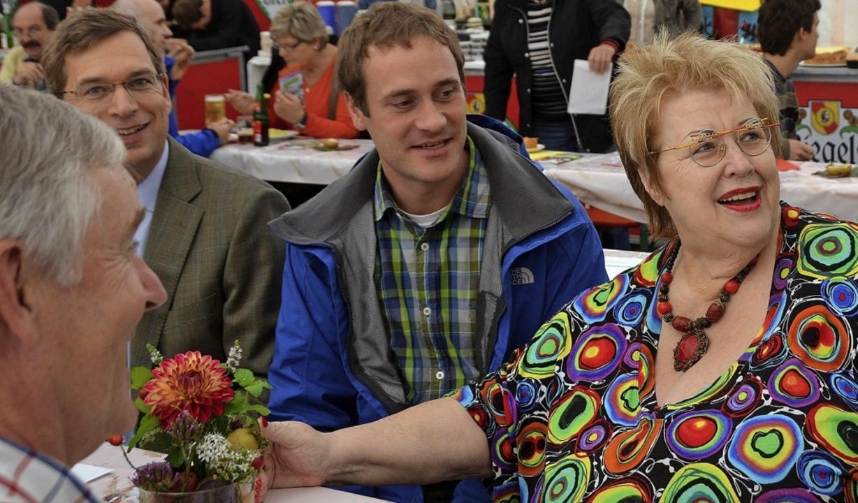 Immer mittendrin und kommunalpolitisch... Kollegen und Landrat gerne beisammen.    Foto: Archivfoto: Sylvia-Karina Jahn
