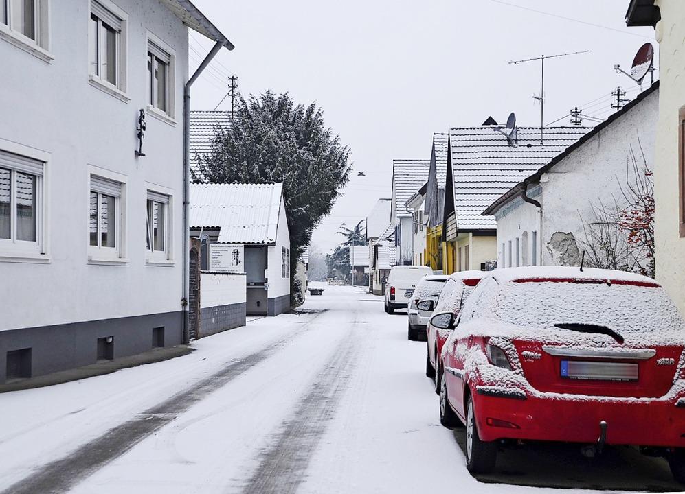 Ärger bereiten in Jechtingen die auf d...d die Anwohner zum Gespräch einladen.   | Foto: Roland Vitt