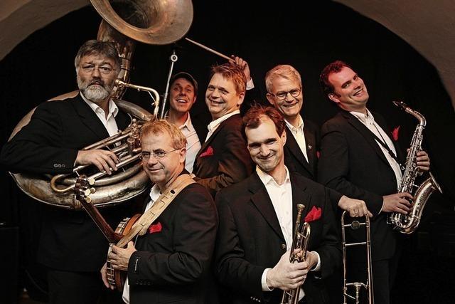 Redhouse Hot Six spielen den Jazz der Zwanziger Jahre