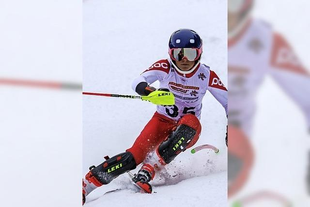 Alpine Titelrennen am Hofeck