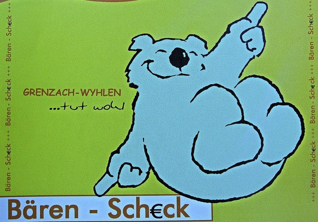 Noch gibt es den Bärenscheck nur in Pa...r HGV will ihn auch digital anbieten.   | Foto: Vollmar