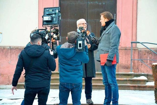 Das Bergdorf rätselt im Fernsehen
