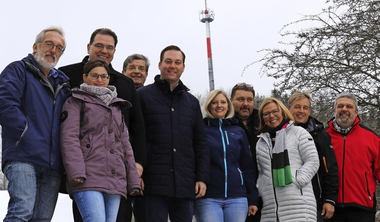 In Gündelwangen ist die Freude groß, a...nndorfs Bürgermeister Michael Scharf.     Foto: Gudrun Deinzer