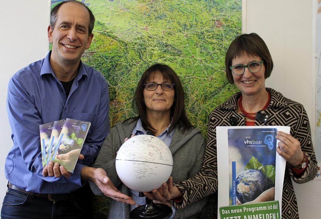 Globales Lernen – so lautet der ...nd Christine Harms-Höfler vorstellen.     Foto: Guy Simon