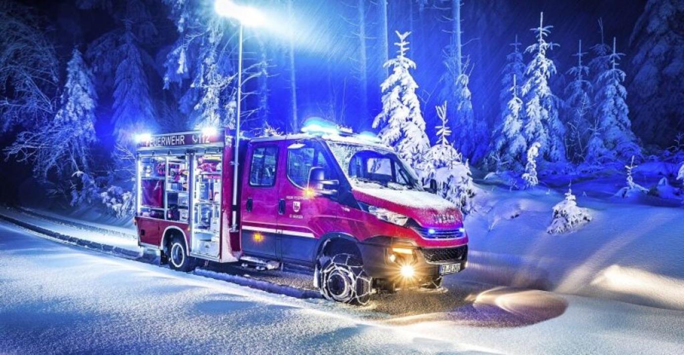 Neues Fahrzeug für den Thurner – das Bild ist zu neu für den Kalender.  | Foto: Felix Walter (fw-imaging.de)