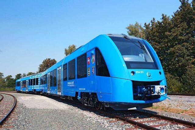 Der erste Brennstoffzellenzug der Welt fährt von Offenburg nach Freudenstadt