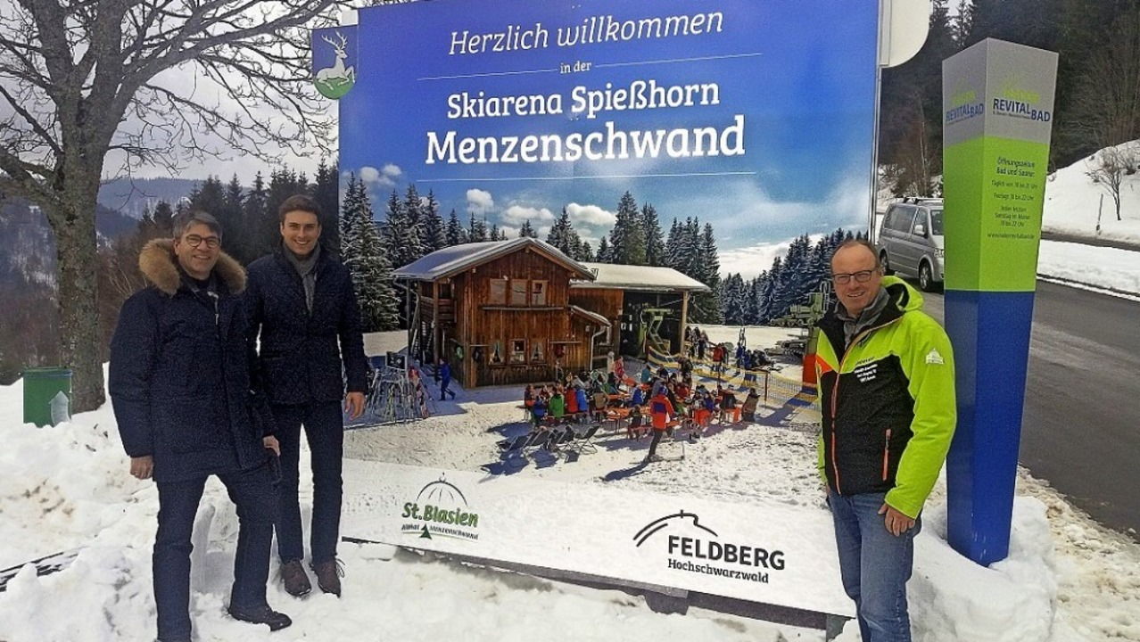 Bernhard Meyer, Bürgermeister Adrian P...ner modernen Website bekannter machen.  | Foto: E. Rupp