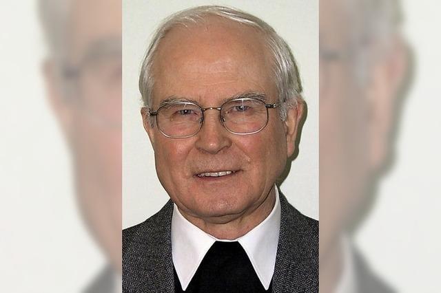 Johannes Zlotos ist Priester seit nun 60 Jahren