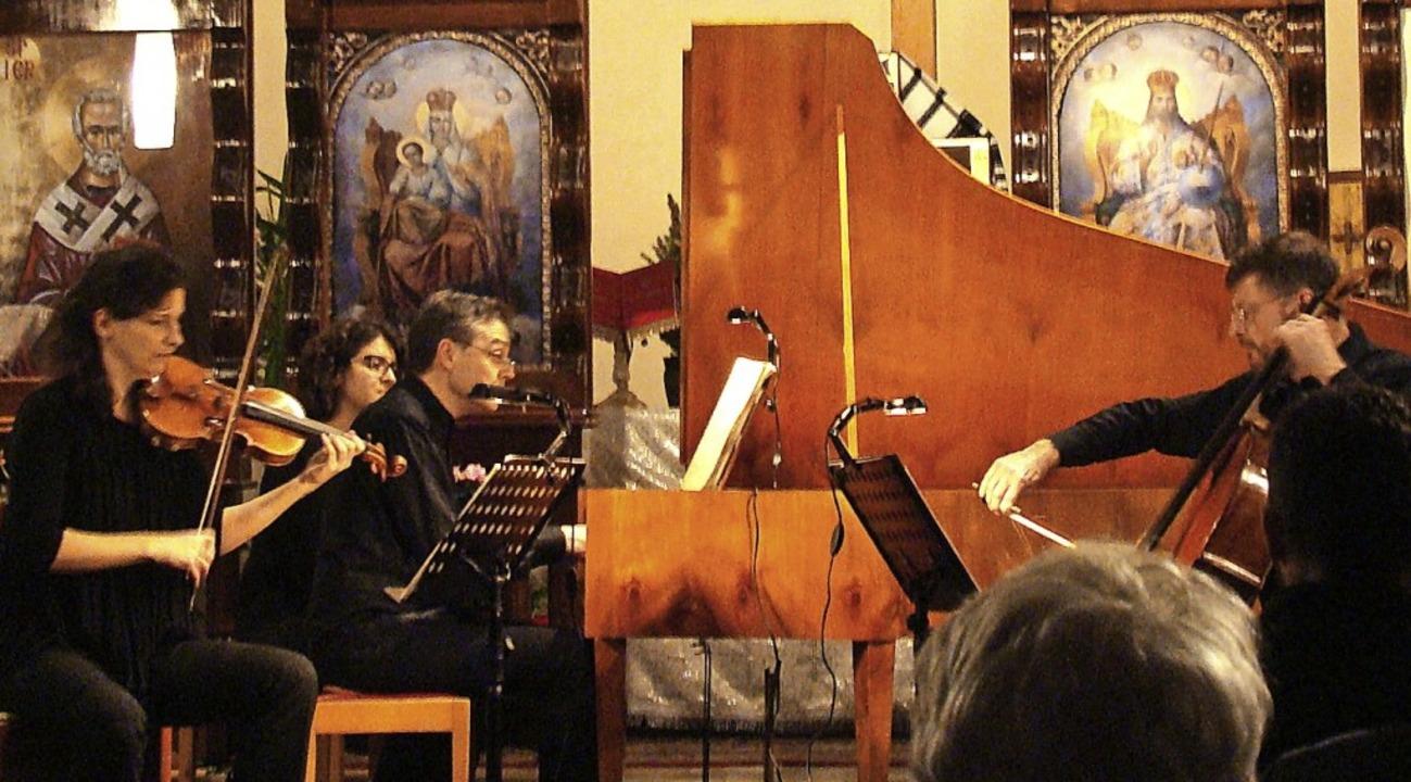 Olga Sendecki (Violine), Kristian Nyqu...tführten in die Musikhauptstadt Wien.   | Foto: Susanne Ramm-Weber