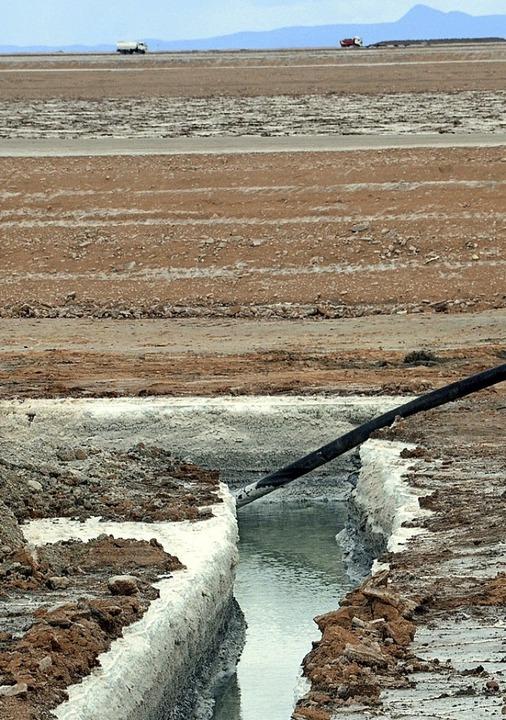 Andernorts wird Lithium oberirdisch ab...i bis fünf Kilometer Tiefe zu finden.     Foto: Ismar/dpa