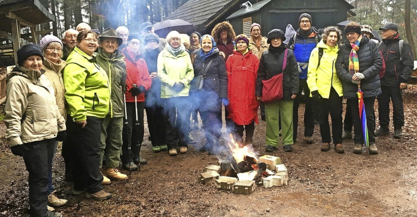 Die erste Wanderung im neuen Jahr führ...chwedischen Weihnachtspunsch (Glögg).     Foto: Verein